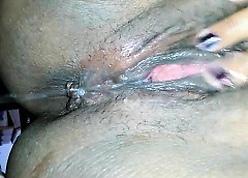 Swarthy squirter having an critical orgasm.