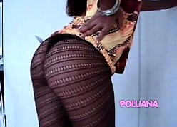Polliana-Gown added to pantyhose