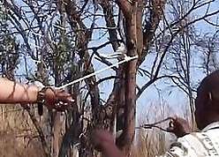 Knavish lovemaking lackey gets doomed up bush coupled with spanked at the end of one's tether pinch pennies