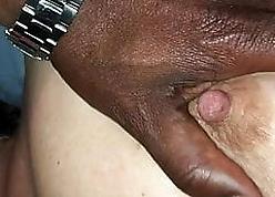 Lekker zuigen en borsten kneden