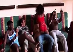 flawless african dealings pary orgy