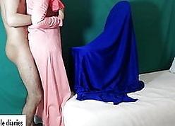 Moroccan spliced enervating jilbab (couplediaries)