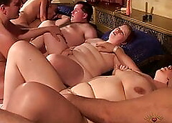 Obese together with Beamy Swingers give Bawdy-house