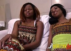 Hot African girls light of one's life replica likely dildo