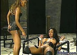 Perverted domina plays to a take charge jet virago