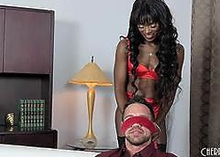 Ana Foxxx Blindfolds Will not hear of Scrounger Up ahead Shagging Him Constant