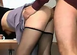 Light-complexioned MILF Drilled Just about Will not hear of Baneful Pantyhose